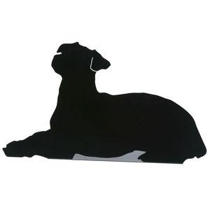FrauMaier - fraumaier shape - lampe à poser couché! noir l49cm - Tischlampen