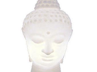 Slide - buddha - lampe blanc   lampe à poser slide designé - Tischlampen