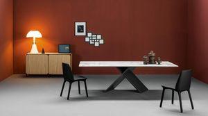 Bonaldo - fauteuil 1287307 - Rechteckiger Esstisch