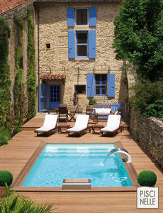 Piscinelle -  - Traditioneller Schwimmbad
