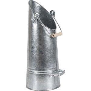 Aubry-Gaspard - seau à cendres zinc lourd - Ascheneimer
