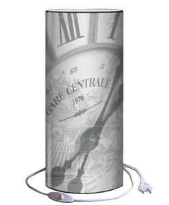 Plage Des Demoiselles - lampe à poser gare centrale 30x12cm - Tischlampen