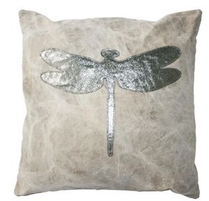 BYROOM - silver dragonfly - Kissen Quadratisch
