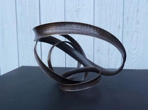 ELIE HIRSCH - aanneaux - Skulptur