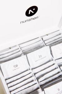 NUNSHEN - coffret mousselines 9 compartiments  - Teekasten