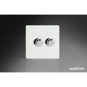 ALSO & CO - double dimmer switch - Doppel Schalter