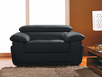 WHITE LABEL - fauteuil cuir sena - Sessel