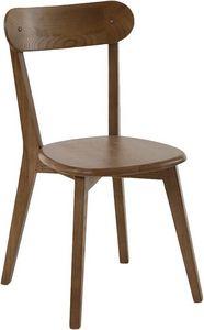 INWOOD - chaise style bistrot bois d'orme (lot de 2) - Stuhl