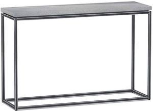 ZAGO - console en béton allégé et métal tray - Konsolentisch