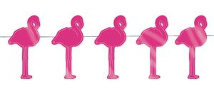 TIM&PUCE FACTORY PARTY PRO - guirlande flamant rose - Wanddekoration