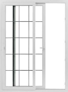 K Par K -  - Schiebeglasfensterfront