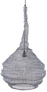 AUBRY GASPARD - lampe suspension métal gris blanchi - Deckenlampe Hängelampe