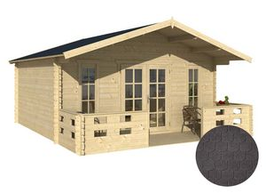 GARDEN HOUSES INTERNATIONAL - dépendance de jardin en bois conches bardeau arron - Holz Gartenhaus
