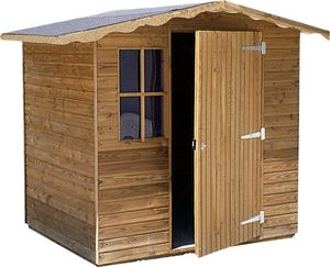 Cihb - abri de jardin en pin 3m² supra - Holz Gartenhaus