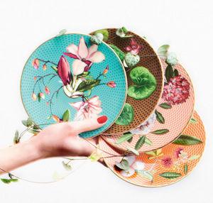 Raynaud - ...trésor fleuri- - Flache Teller