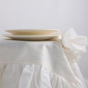 BORGO DELLE TOVAGLIE - white ivory - Viereckige Tischdecke