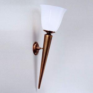 Berliner Messinglampen -  - Wandfackel