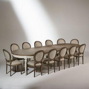 Robin des bois - aude - Ausziehbarer Tisch