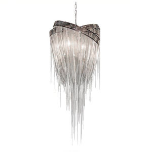 ALAN MIZRAHI LIGHTING - ch10120 nickel chic - Kronleuchter