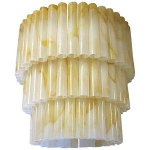 ALAN MIZRAHI LIGHTING - dv5511 marbled tubes - Kronleuchter