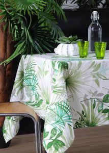 STOF - palm vert  - Rechteckige Tischdecke