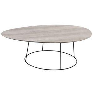 TOUSMESMEUBLES - table de repas ovale 1410603 - Ovaler Esstisch