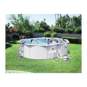 Bestway - piscine hors-sol tubulaire 1421903 - Pool Mit Stahlohrkasten