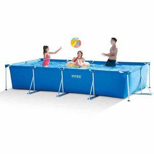 INTEX - piscine hors-sol autoportante 1422023 - Schwimmbad Mobil