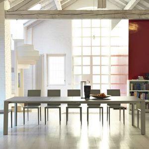 Midj - ghedi - table extensible en mdf 1m40 à 2m90 - Ausziehtisch