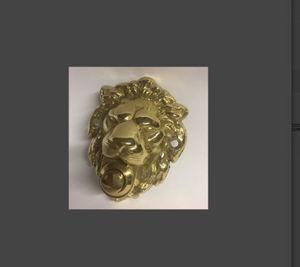 IGS deco - tête de lion - Klingelknopf