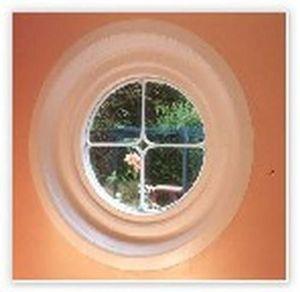 Belleweather Garden Buildings -  - Rundfenster