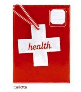 ANNE-CHARLOTTE GOUTAL - carnet de santé - Gesundheitsheft