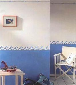 Blancolor - frise et filet - Papierfries
