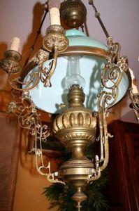 Boutique Antiquidees -  - Deckenlampe Hängelampe