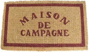 MonPaillasson.com - maison de campagne - Fussmatte