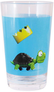 Scratch - verre tortue - Kinderglas