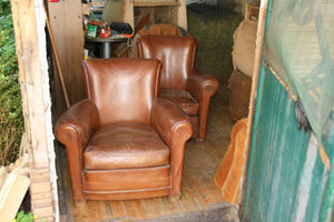 Fauteuil Club.com - fauteuil club corbeille. - Clubsessel