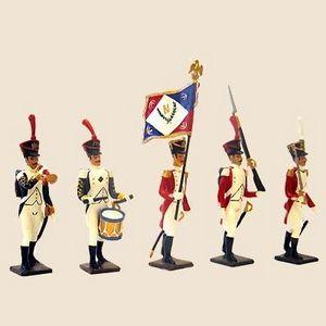 Cbg Mignot - bataillon valaisan 1805 - Zinnsoldat