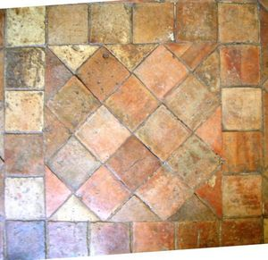 Materiaux Anciens Labrouche Fils - 16x16 - Antike Fliese