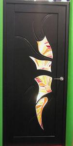 Atelier Eolcha - maori - Glasverbindungstür