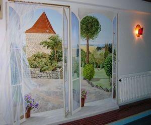 Arpagian Décor Mural -  - Trompe L'oeil Malerei