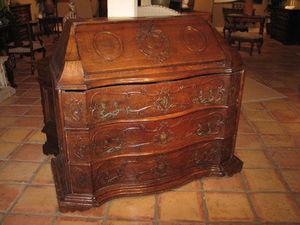FOSTER-GWIN - walnut bureau - Schreibtisch