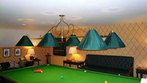 Billiard Room Antiques -  - Billardlampe