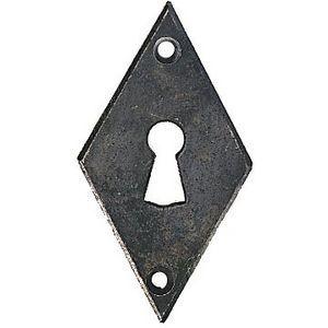 FERRURES ET PATINES - entree de clef losabge en fer vieilli pour porte d - Schlüsselloch
