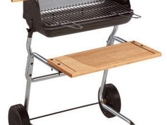 INVICTA - barbecue spécial rôtissoire victoria 66x71x98cm - Holzkohlegrill