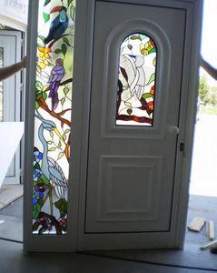 VITRAL D ARTE - vitrail - Verglaste Eingangstür