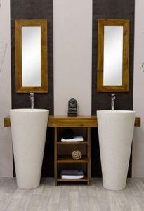 Omah It - osiris - Doppelwaschtisch Möbel