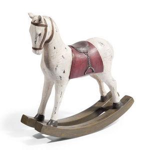 Maisons du monde - cheval à bascule talensac - Schaukelpferd