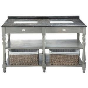 MAISONS DU MONDE - meuble double vasque saint-rémy - Doppelwaschtisch Möbel