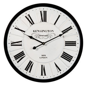 Maisons du monde - horloge bianca petit modèle - Küchenuhr